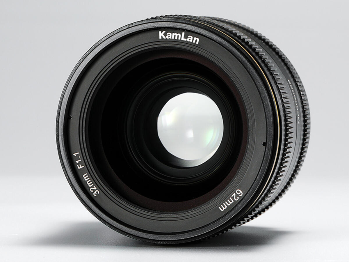 Kamlan 32mm f/1.1 Lens for APS-C and Micro Four Thirds