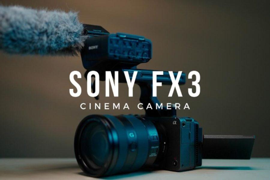 Sony FX3 Cinema E-mount Camera Becomes Official