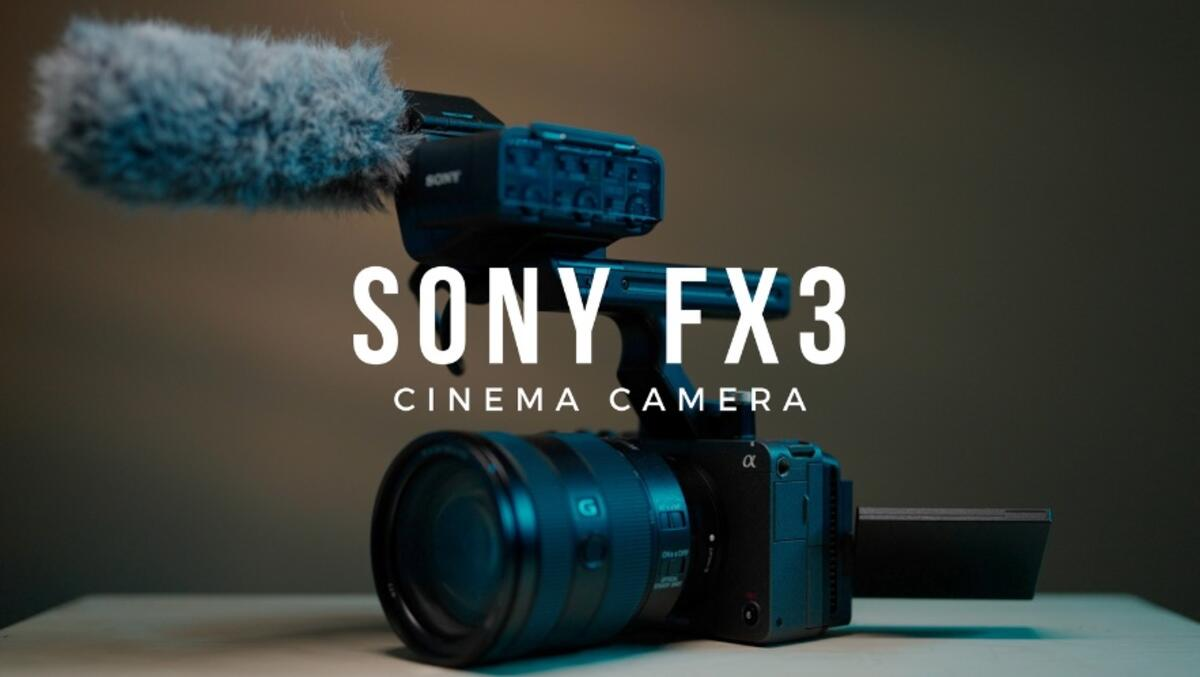 Sony Electronics Launches FX3 Full-Frame Camera for Cinematic Look and Enhanced Operability for Creators