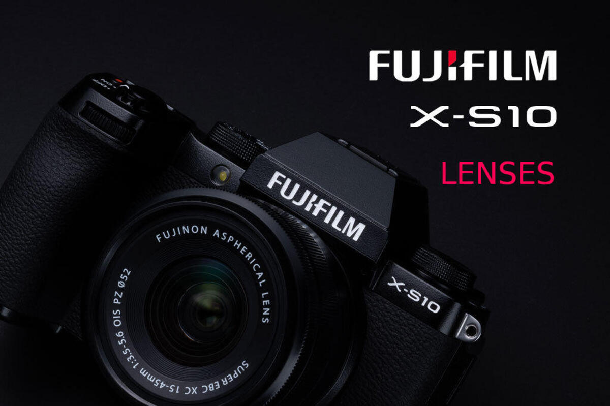 Best Lenses for Fujifilm X-S10