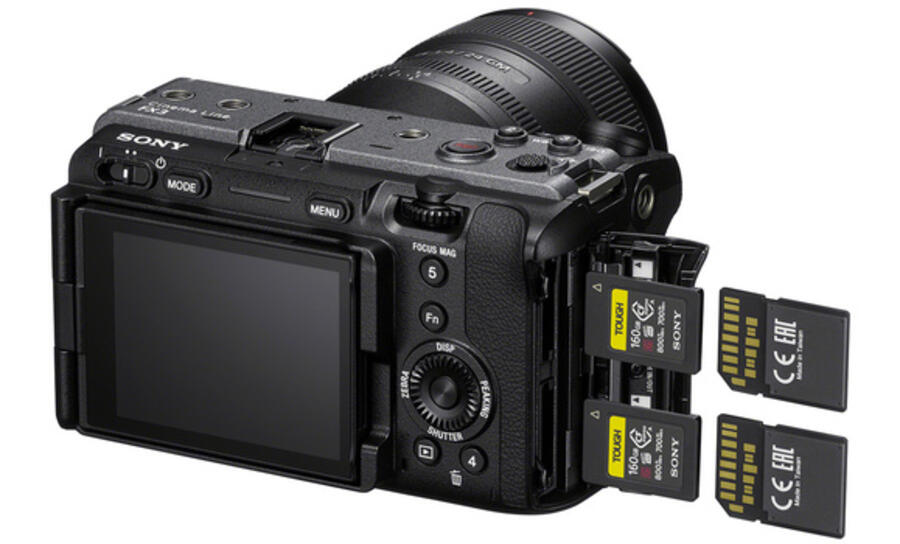 Best Memory Cards for Sony FX3