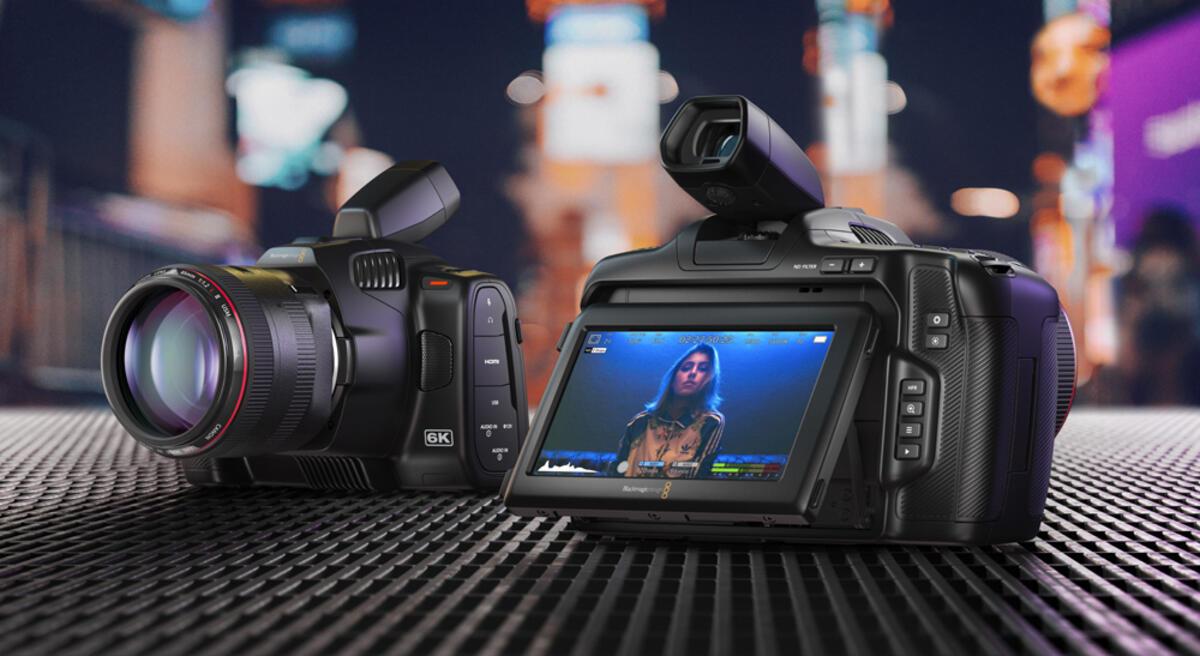Blackmagic Design Pocket Cinema Camera 6K Pro Officially Announced