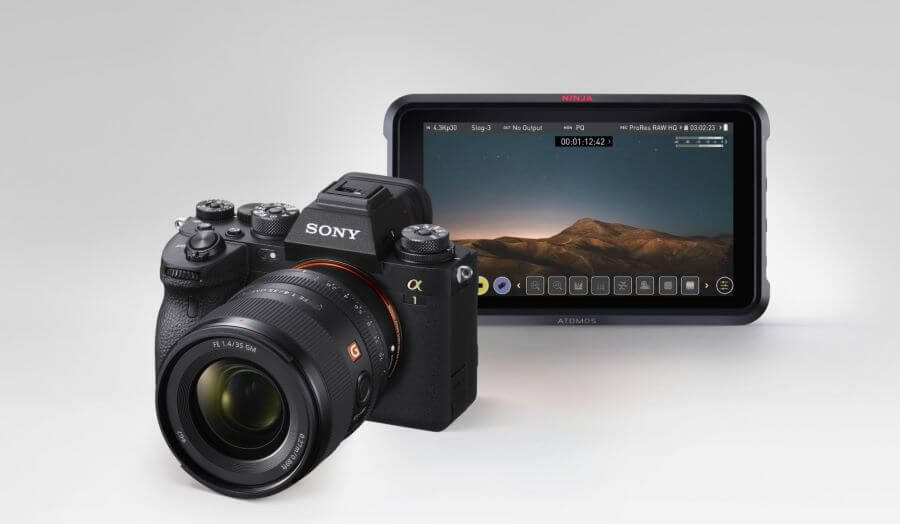 Atomos announces development of ProRes RAW support for Sony A1