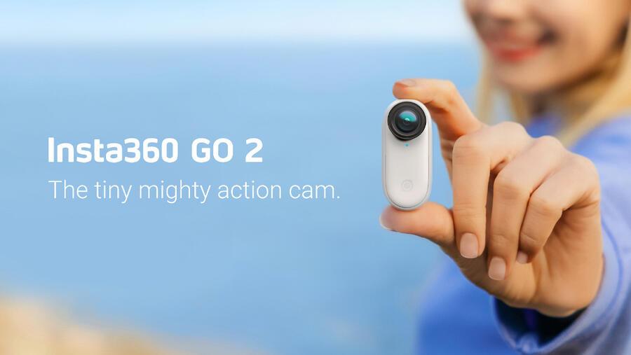 Insta360 GO 2 Flagship Waterproof Action Camera