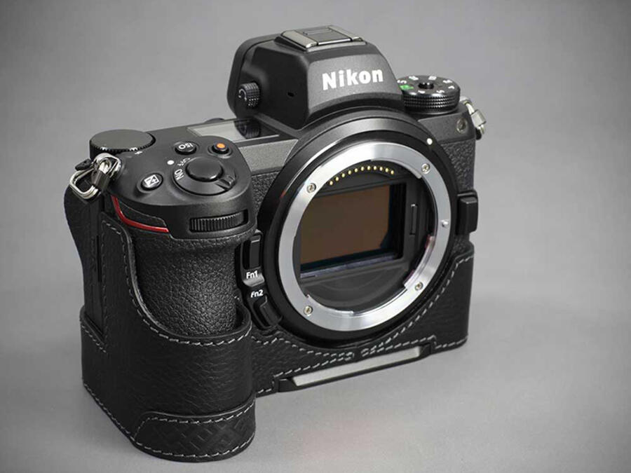 LIM Leather Half Cases for Nikon Z6 II and Z7 II cameras
