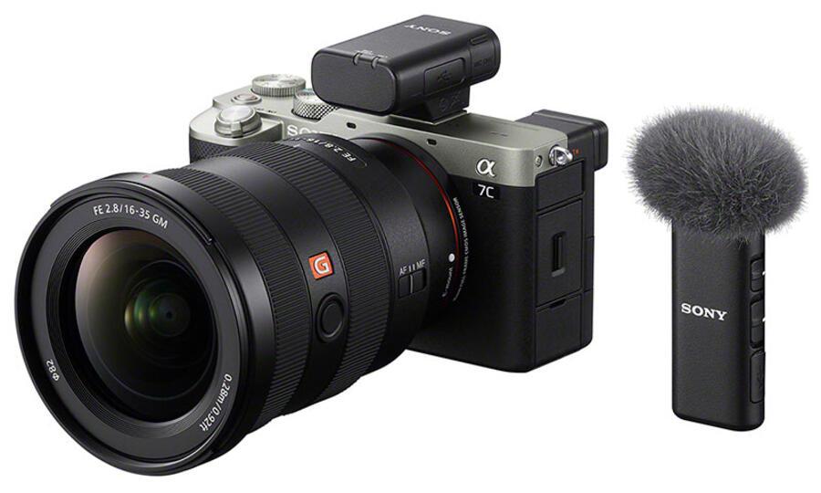 Sony Announces ECM-W2BT Wireless Microphone & ECM-LV1 Compact Stereo Lavalier Microphone