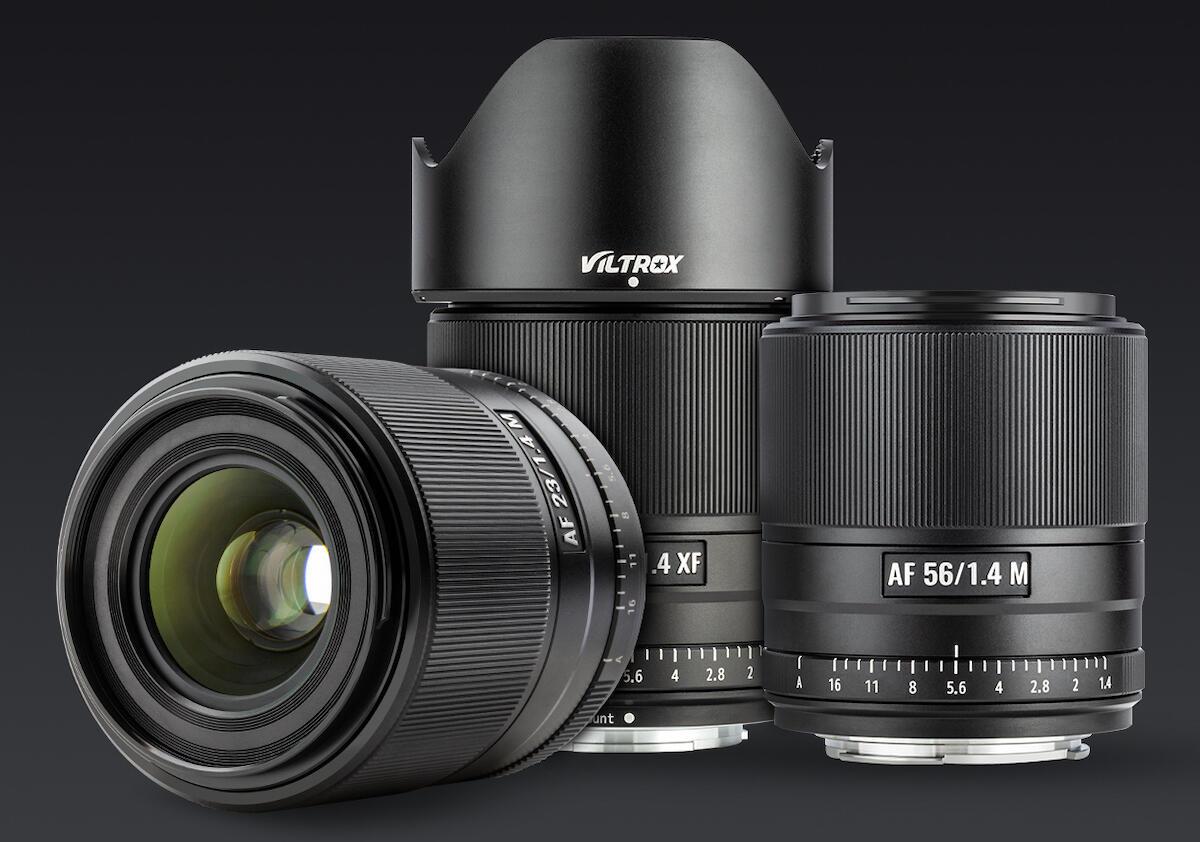 Viltrox AF 23mm, 33mm & 56mm f/1.4 Firmware Updates Released