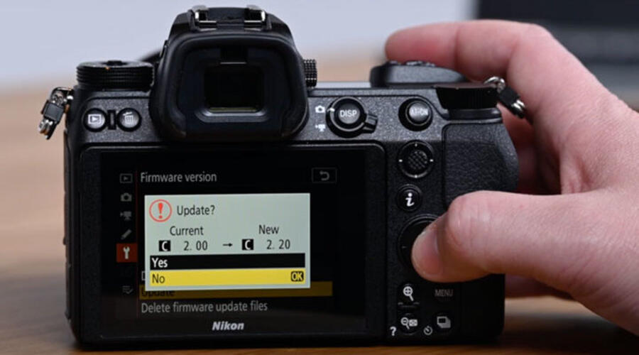 Nikon Z50 Firmware Update Version 2.03 and D780 Version 1.0.2 Released