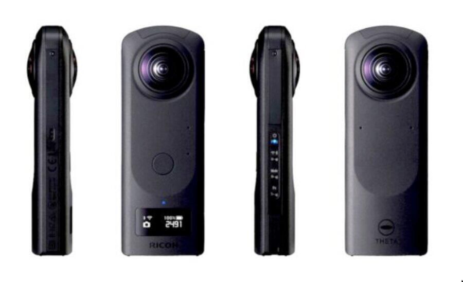 Ricoh Theta Z1 51GB Camera Announced