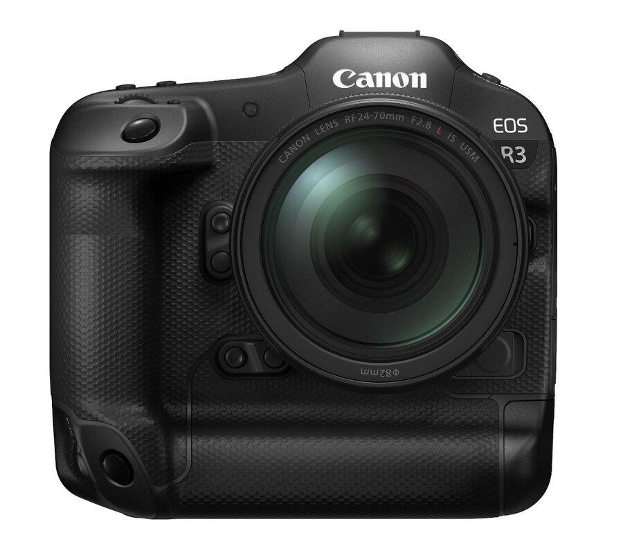 The Canon EOS R3 sensor may not be produced by Canon