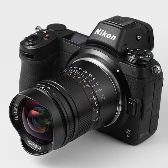 TTArtisan 21mm f/1.5 lens for Nikon Z, Sony E, Canon R and Leica L