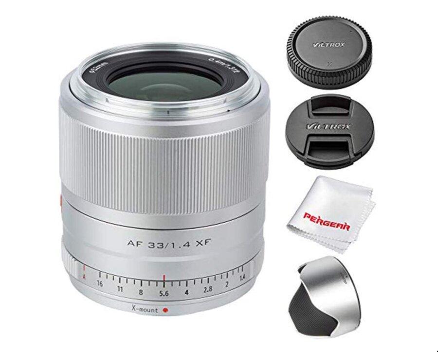 Silver Viltrox AF 23mm, 33mm & 56mm f/1.4 Lenses Released