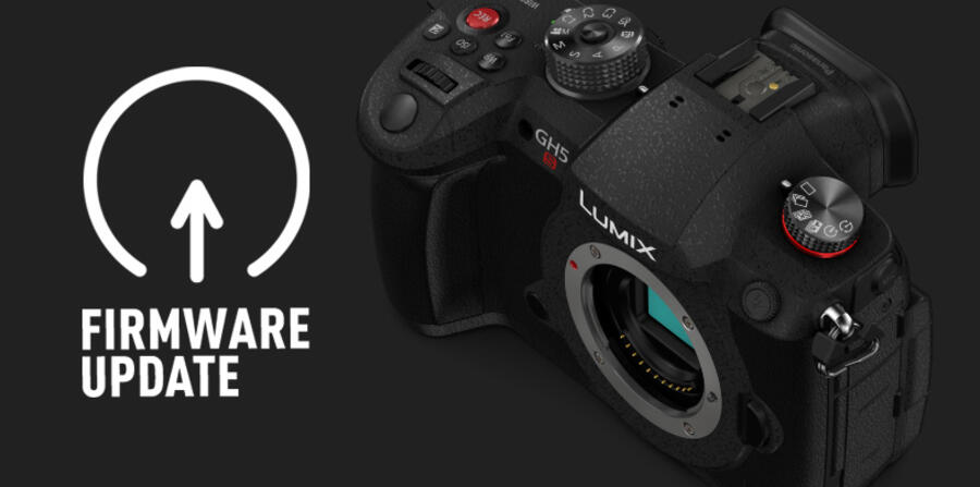 New Firmware Updates for Panasonic GH5S, G9 and G100