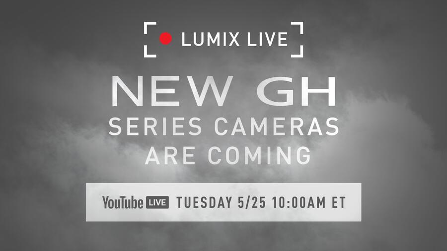 Panasonic GH5 Mark II Coming on May 25