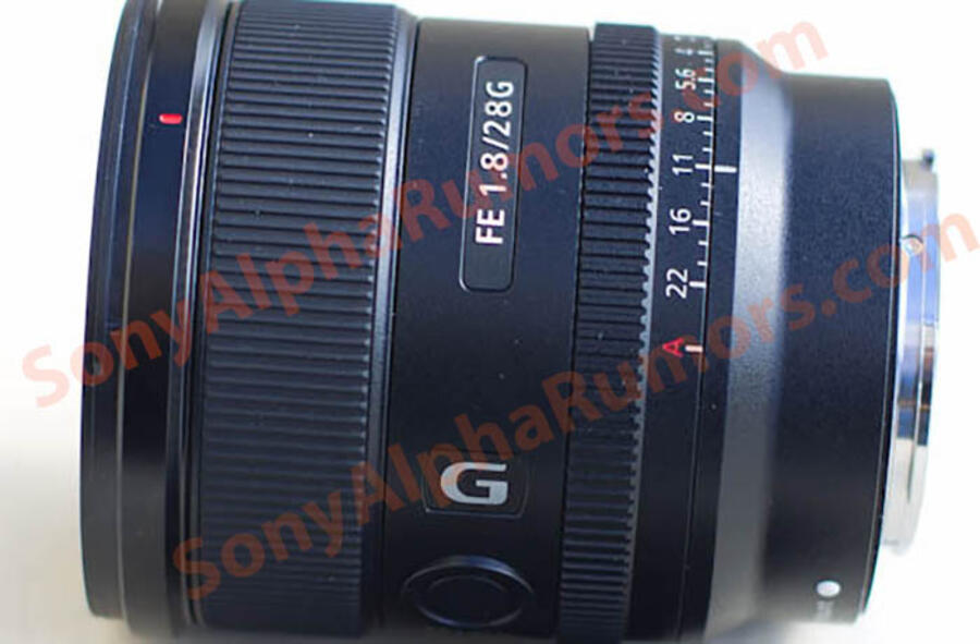 First Images & Specifications of Sony FE 28mm f/1.8 G Lens