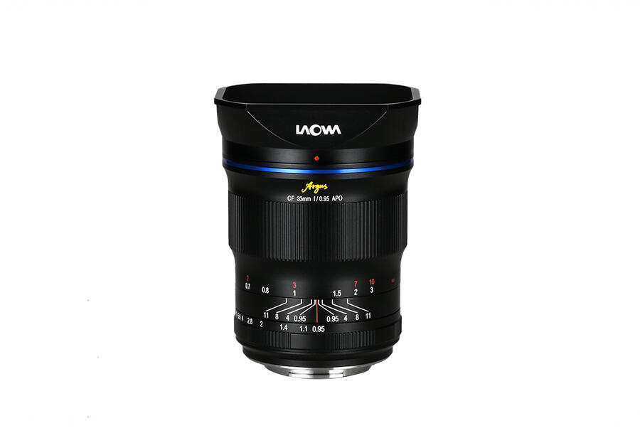 Laowa Argus 33mm f/0.95 CF APO Lens Now Available for Pre-order