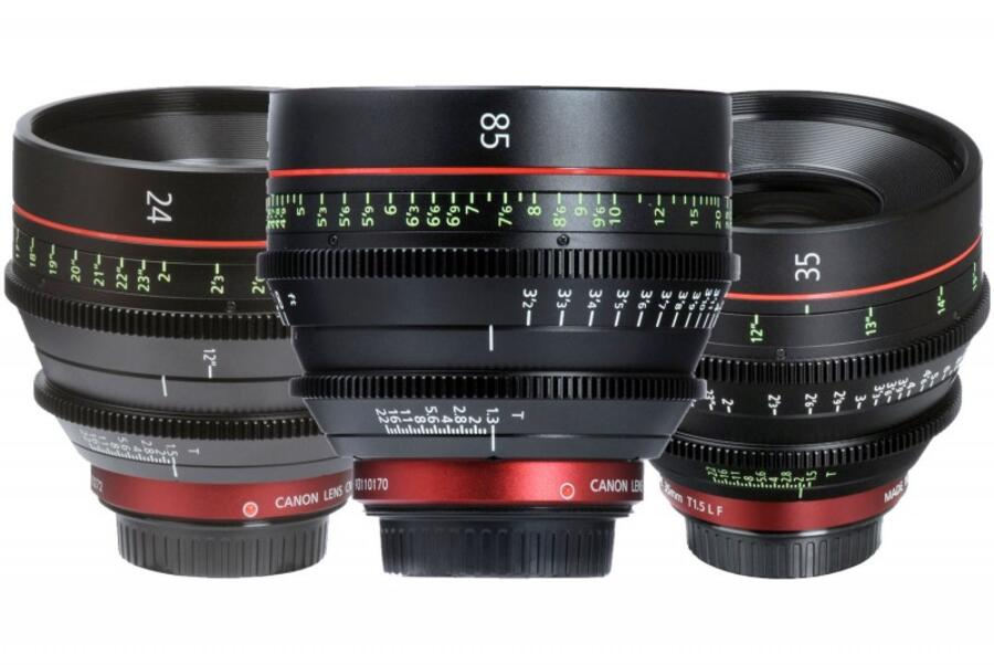 Canon RF Mount Cinema Lenses Coming with Cinema EOS C300S and C500S