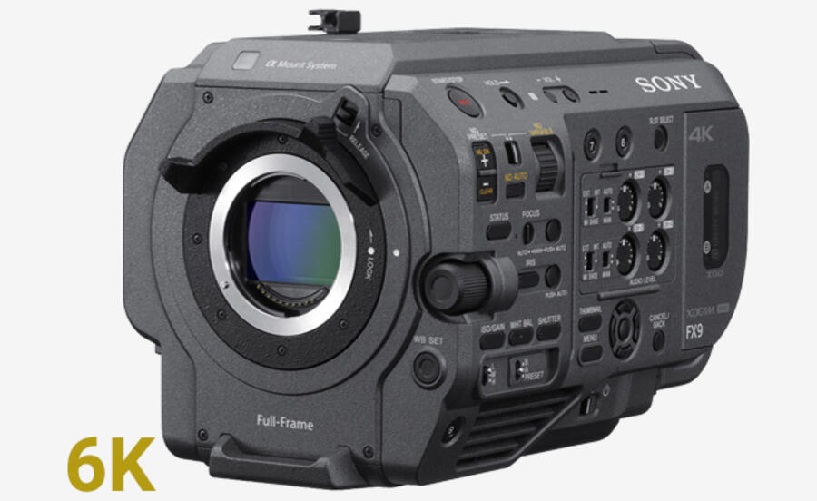 Sony FX9 Firmware Update Version 2.10 Released