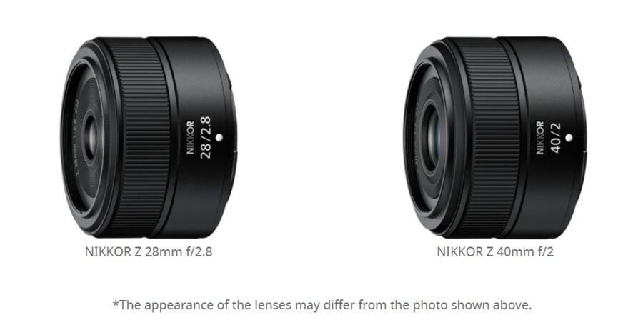 Nikon is developing NIKKOR Z 28mm f/2.8 and NIKKOR Z 40mm f/2 Lenses