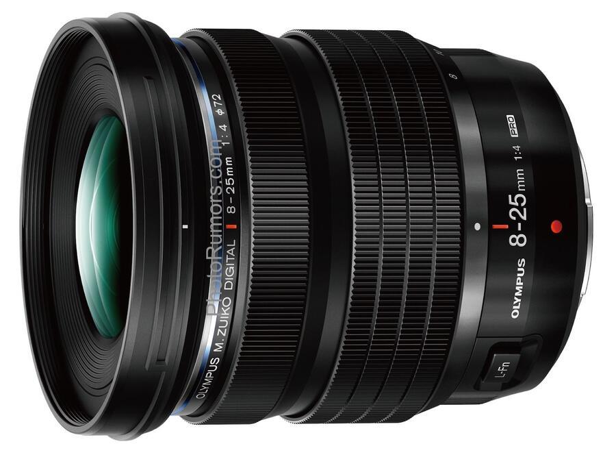Olympus M.Zuiko Digital ED 8-25mm f/4 PRO Lens Specifications