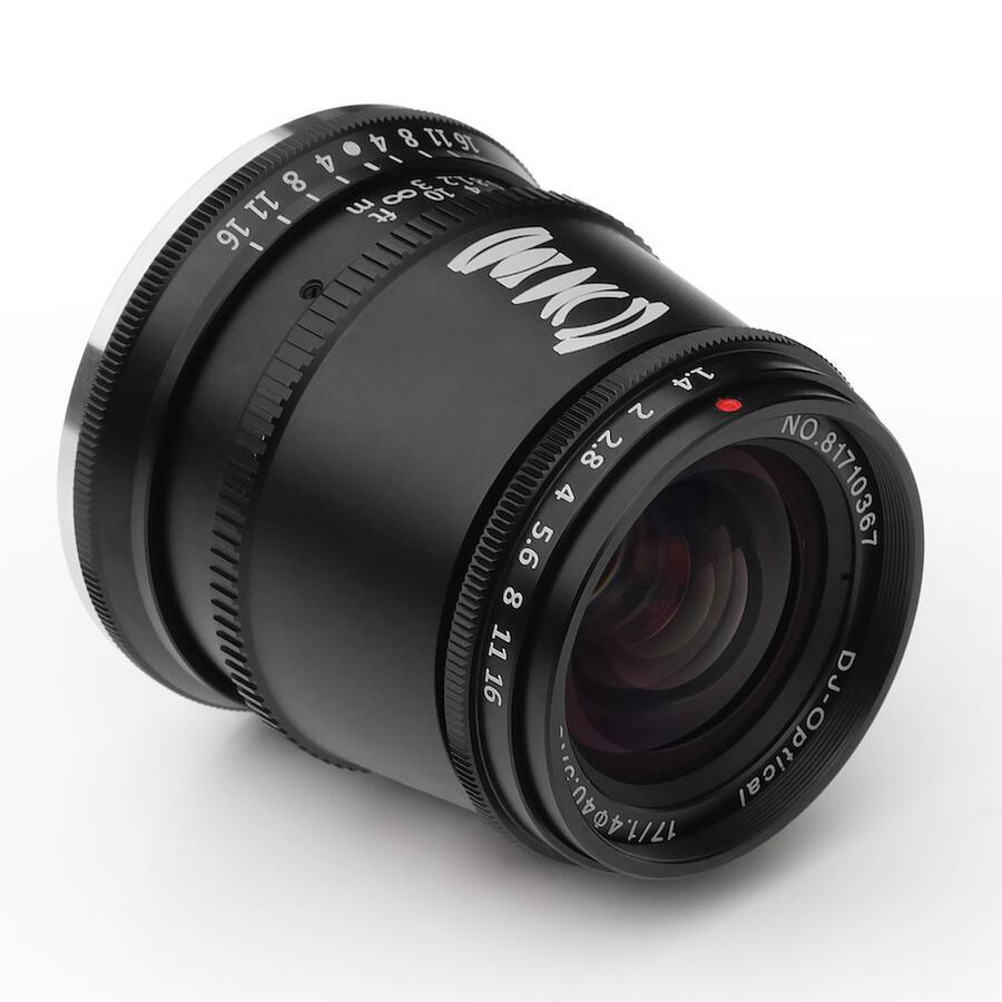 TTartisan 17mm f/1.4 APS-C Mirrorless Lens Announced