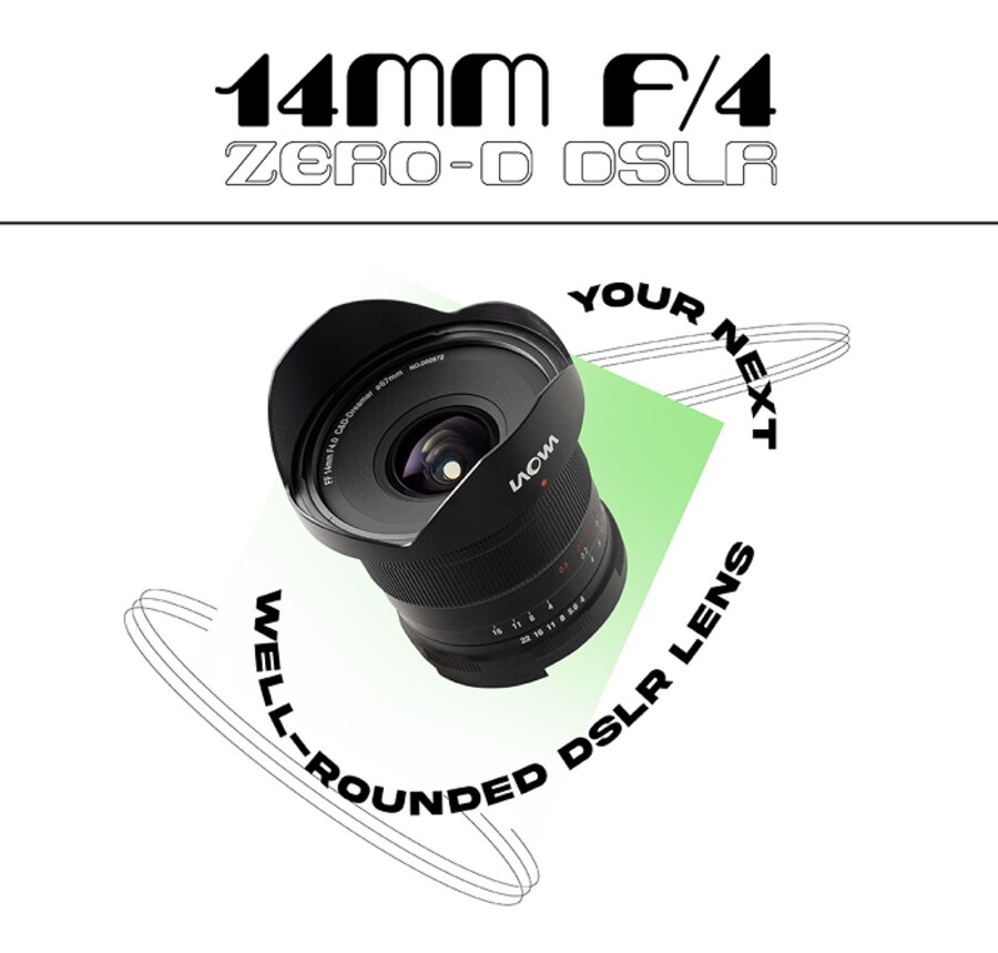 Laowa 14mm f/4 Zero-D Lens Announced, Price $499