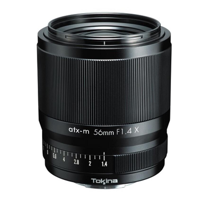 Annunciato ufficialmente l'obiettivo Tokina atx-m 56mm f/1.4 X