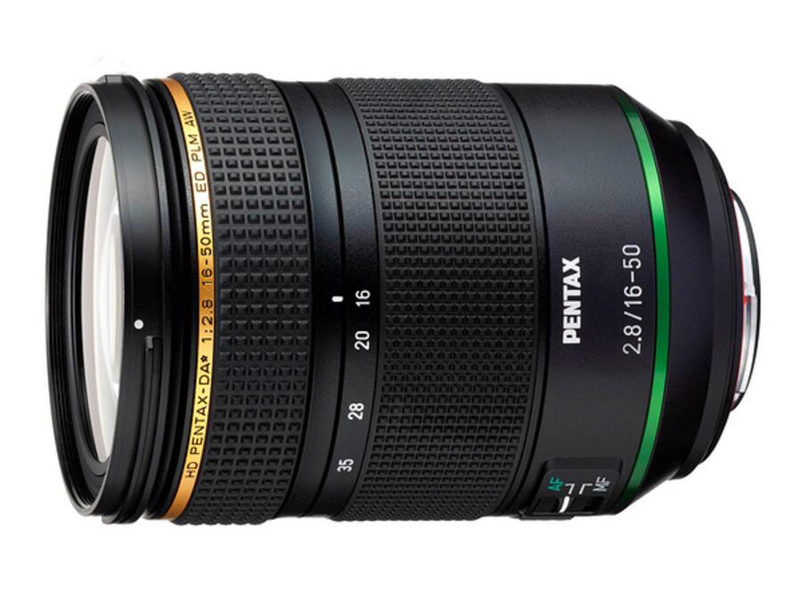Pentax HD PENTAX-DA 16-50mm f/2.8 ED PLM AW Lens Officially Announced