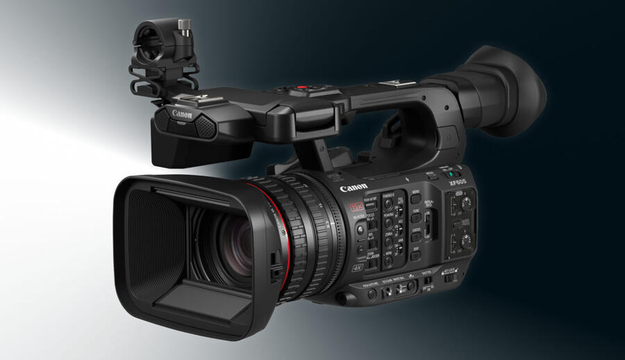 Canon XF605 UHD 4K HDR Pro Camcorder Officially Announced