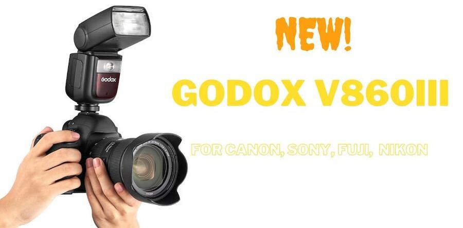Godox Ving V860III Flash Released for Sony, Canon, Nikon, and Fuji