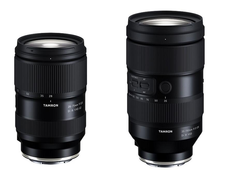 Tamron Announces the Development of 35-150mm f/2-2.8 & 28-75mm f/2.8 Lenses