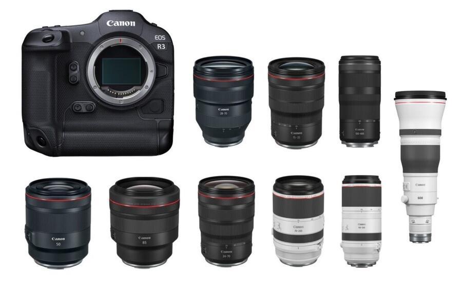 Best Lenses for Canon EOS R3
