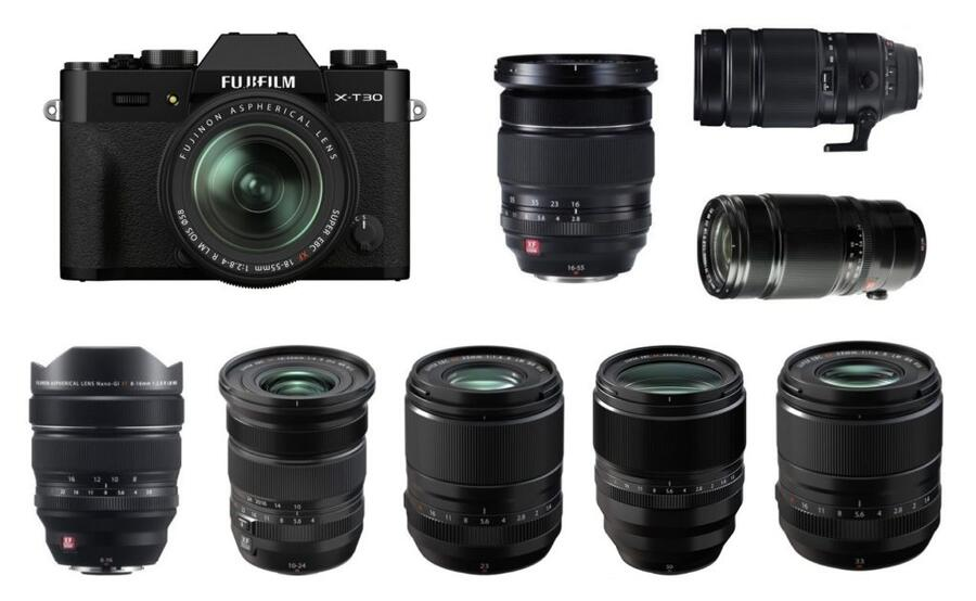 Best Lenses for Fujifilm X-T30 II