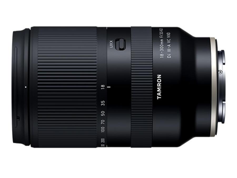 Tamron 18-300mm f/3.5-6.3 Di III-A VC VXD Lens for Fujifilm X-mount Announced